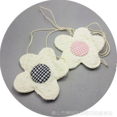 新款甜美女童花朵小挎包  儿童百搭布艺斜挎包 小包包