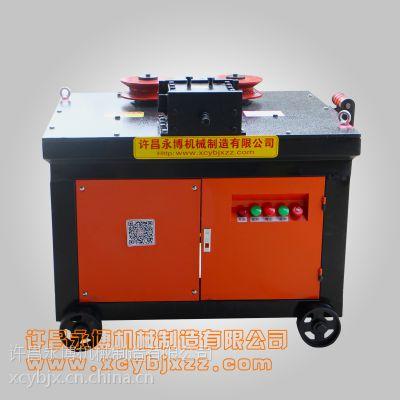 永博机械厂家供应GWH-40型钢筋弯弧机 管材360度弯圆设备
