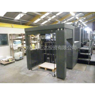 供应进口海德堡2005年4色对开上光胶印机 CD102-4+LX 型