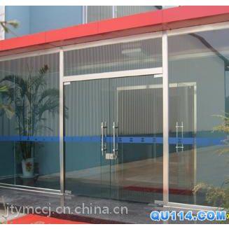 天津自动平移门安装,感应玻璃门安装