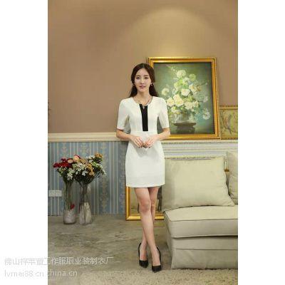 2015春装新款女韩版品牌女装 哥弟职业套装 成都工作服