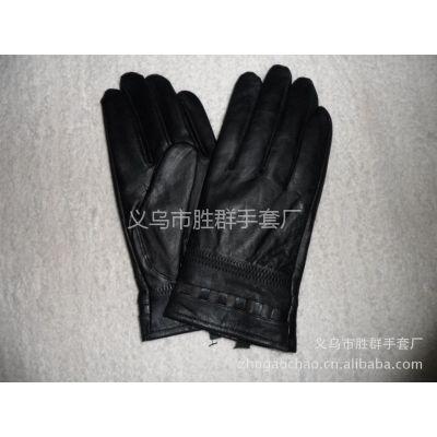 供应批发男士真皮时尚手套/高档优质绵羊皮手套/休闲整皮手套