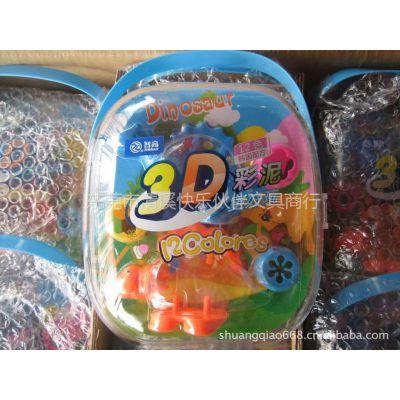 供应智高3D恐龙彩泥  DD- 5031 12色韩国配方 彩泥批发