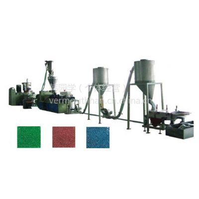 供应PVC锥双造粒 PVC造粒 塑料造粒机组