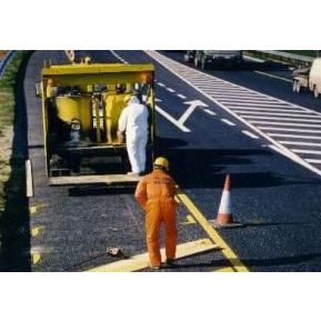 四川道路划线 热熔标线施工 马路划线公司 冷涂划线施工队