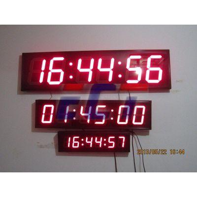 易彩通GPS卫星电子钟 数码时钟 GPS时钟(8寸)
