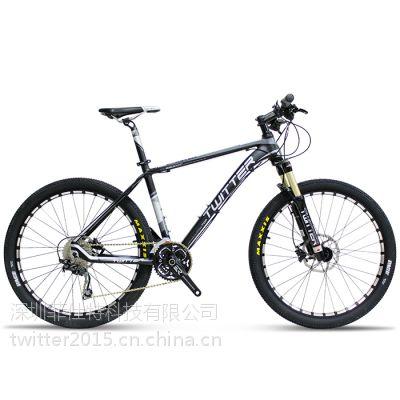 越野型山地自行车 骓特TW6800XC自行车 30速油刹禧玛诺变速 山地车