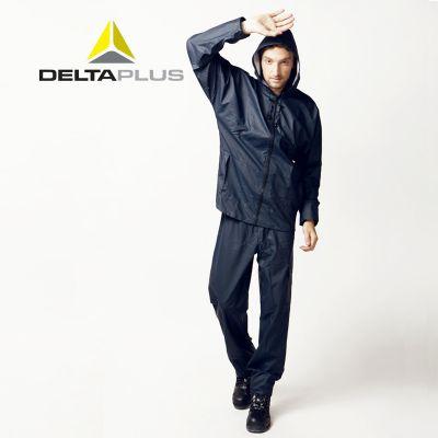 供应代尔塔407008分体雨衣 EN850涤纶户外防风雪套装 防水工作服