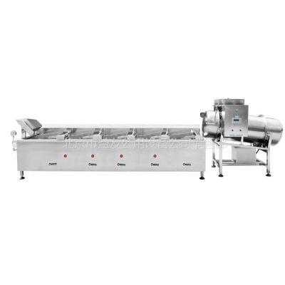 供应自动化中央厨房设备-YNRB-300煮面线/烧烤线