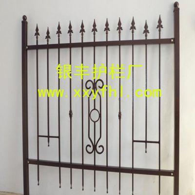 供应铁艺阳台栏杆 铁艺围栏 庭院阳台围栏 铁艺护栏