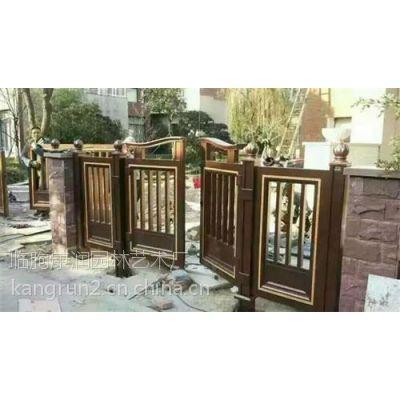 临朐康润园林(图),铝艺庭院门,庭院门