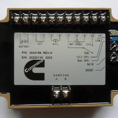 3044196康明斯控制板,Cummins 3044196调速控制模块