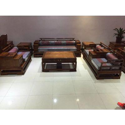 供应刺猬紫檀大床 非洲花梨大床 实木贵妃床罗汉床家具