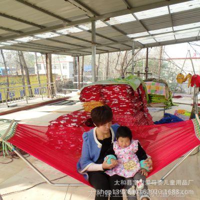 吊床、多功能折叠婴儿床、户外吊床,全网