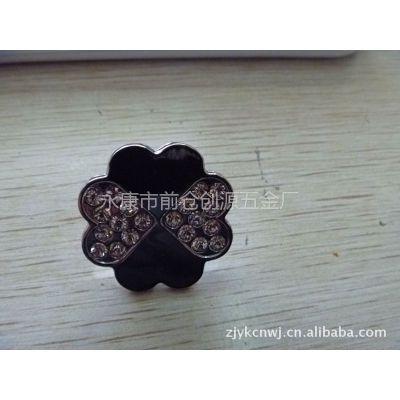 供应 生产高档 锌合金带钻 拉手