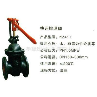 特价供应快开排泥阀KZ41T-10