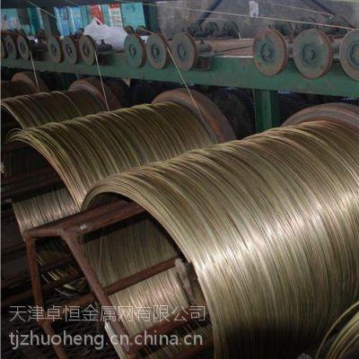 工艺专用镀锌铁丝,镀锌铁丝卓恒金属网(图),热镀锌铁丝