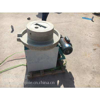 鼎信直销商用50型肠粉电动石磨 多功能天然石材豆浆电动石磨