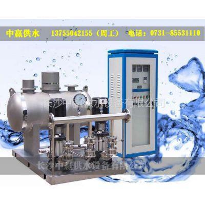 供应无负压增压稳流供水设备,中国梦催热环保生意中赢先进推出多款设备