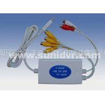 供应生产1路USB视频采集卡 2.0接口 笔记本专用  支持远程