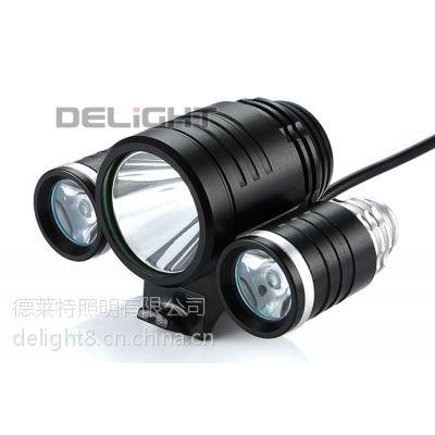 供应深圳德莱特牌 高亮多粒LED自行车灯 NT005