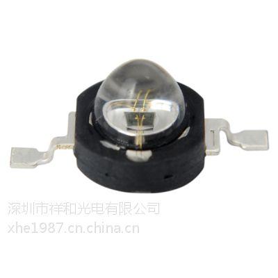 单颗仿流明红外线监控灯珠 黑色经典膜顶封装