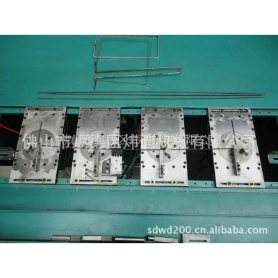 供应铁线双弯 四弯电控气动台式快速折弯机 快速折框机,线材成型设备