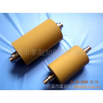 供应塑料切粒机高耐磨耐温橡胶滚筒 橡胶滚筒包胶 滚筒