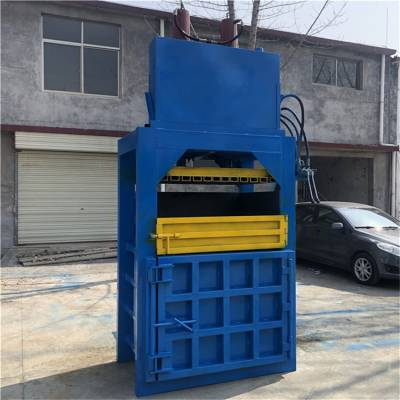 单杠四开门打包机 废纸液压打包机 半自动塑料瓶压缩机 圣通