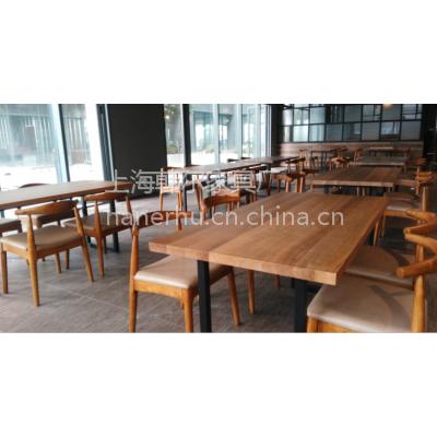 按图纸定制西餐厅桌椅 上海韩尔简约家具厂