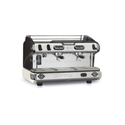 代理原装进口意大利LASPAZIALE意式咖啡机 S9 双头电控半自动咖啡机