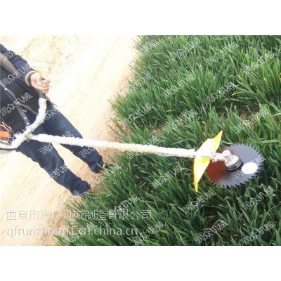 汽油手推1米宽割草机 农场往复式除草机 杂草野菜割草机