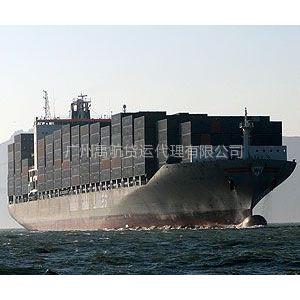 常州到东莞海运收费