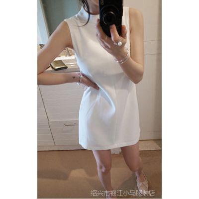 定制CHA*EL大牌范同款名媛小香风白色春夏季连衣裙高级成衣