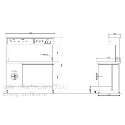 科翔KXT0214型试验桌/实验桌