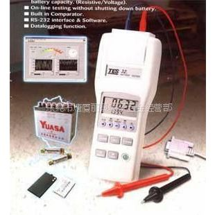 供应台湾泰仕 TES32电池检测仪 TES-32蓄电池内阻测试仪