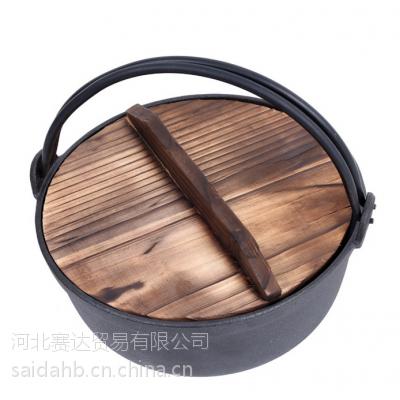 铸铁加厚炖锅 汤锅 生铁锅 炒锅 外贸原单出口24 专业生产