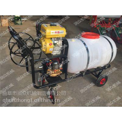 大宽幅高杆牵引喷雾器 农用轻便型打药机 农民轻松打药喷雾器