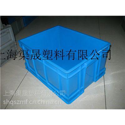 供应上海可堆式塑料周转箱上海