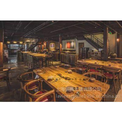 韩式餐厅桌椅设计韩式餐厅实木桌椅定做