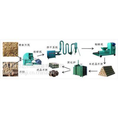海南木炭机设备_巩义万达机械(图)_机制木炭机设备