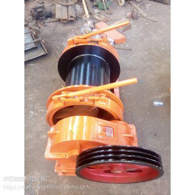 广西北流天旺3吨矿用配置离合结构卷扬机