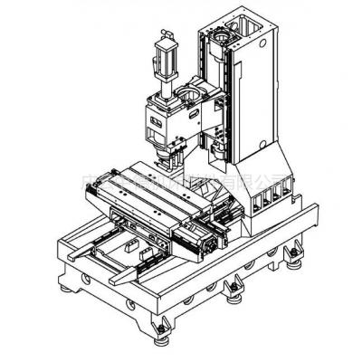 供应台正机床TOM-高速L1600/5050立式加工中心外防护罩#机床钣金防护罩#钣金外壳