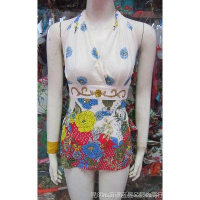 印巴风情 波西米亚 民族风 手工钉珠 泰国服装 绣珠吊带010