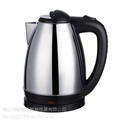 厂家批发不锈钢电水壶 自动断电防干烧电热水壶OEM