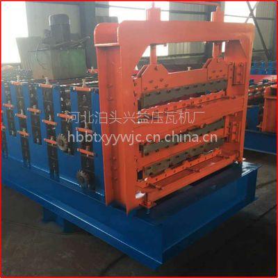 三层彩钢压瓦机沧州兴益压瓦机厂现货供应
