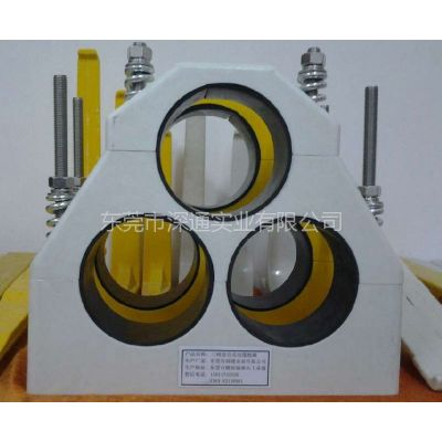 供应玻璃钢品字形电缆抱箍(电缆固定夹)