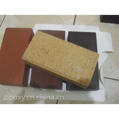 供应米黄色烧结砖景观砖透水砖