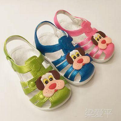 夏季新款韩版宝宝学步鞋儿童凉鞋宝宝鞋凉拖鞋男女宝宝童鞋批发