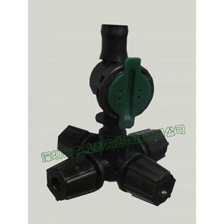 供应喷灌设备 十字雾化喷头 可控角摇臂喷头 微喷带 铜喷头